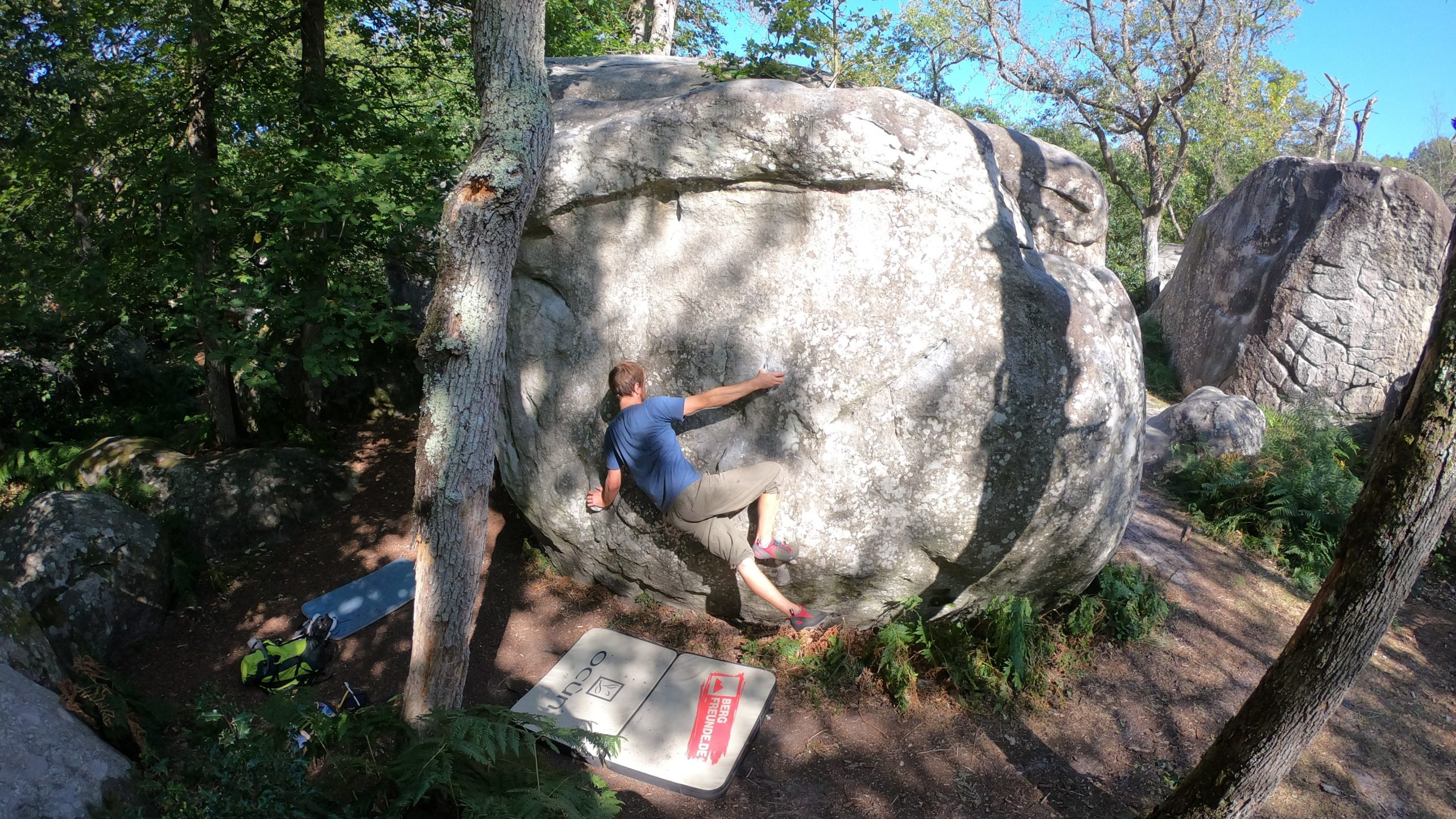 Bouldern in Fontainebleau