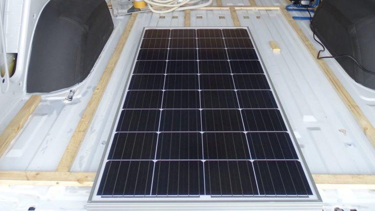 Camper Ausbau Solaranlage