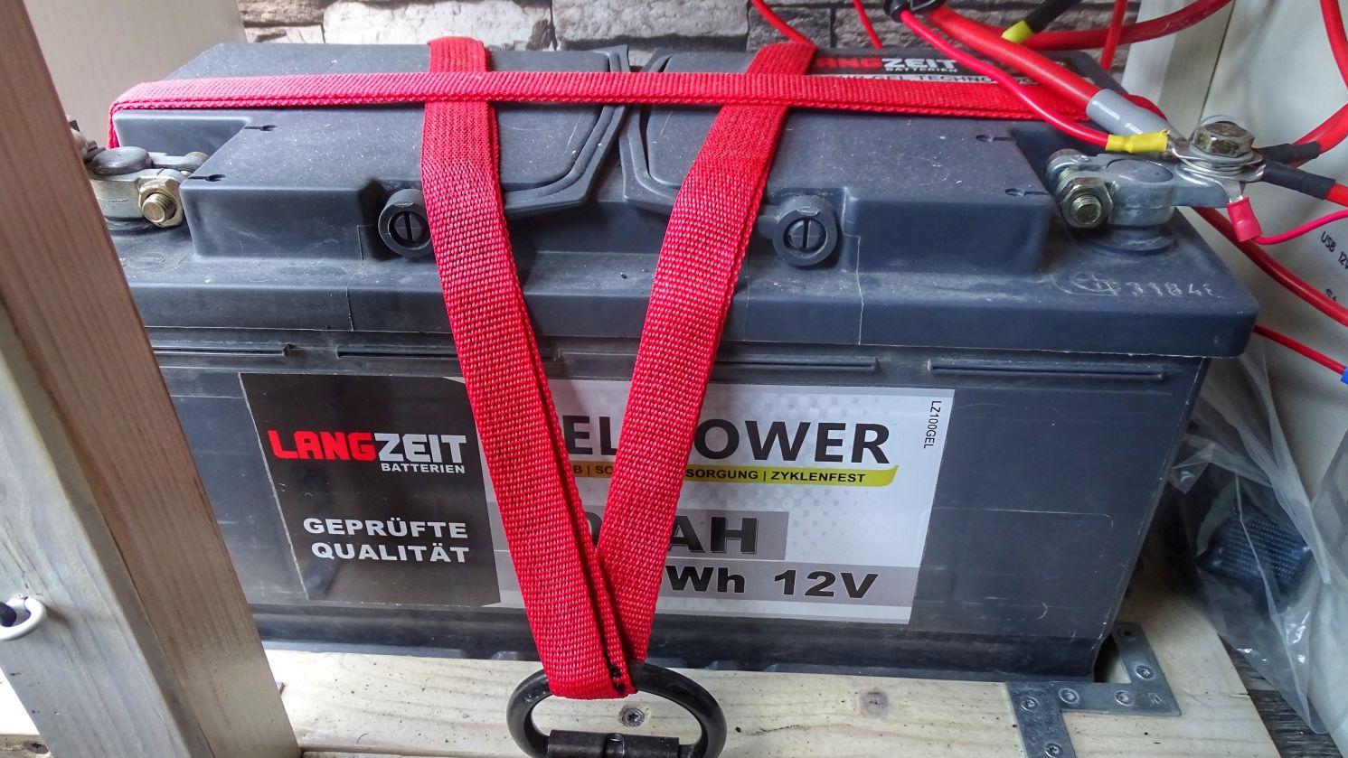 Wohnmobil Stromversorgung über eine Wohnmobil Batterie