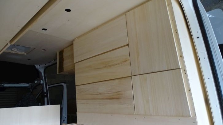 Holzbehandlung-Paulowniaholz im Originalzustand