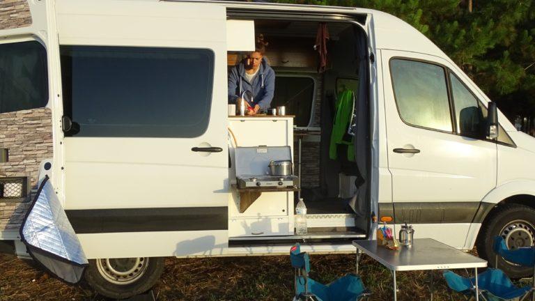 Küche Camper-Van