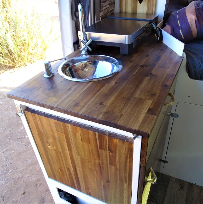 Küchenblock Wohnmobil