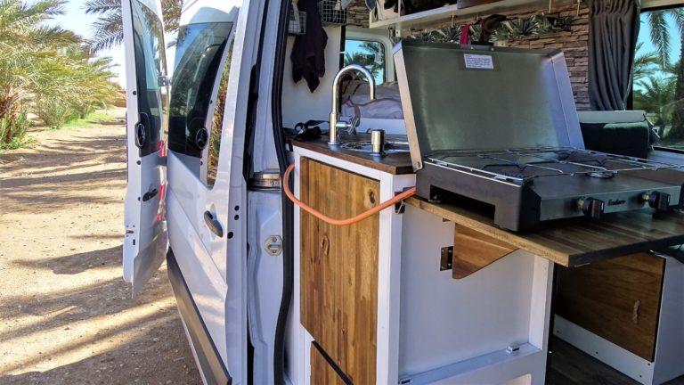 Gaskocher im Van
