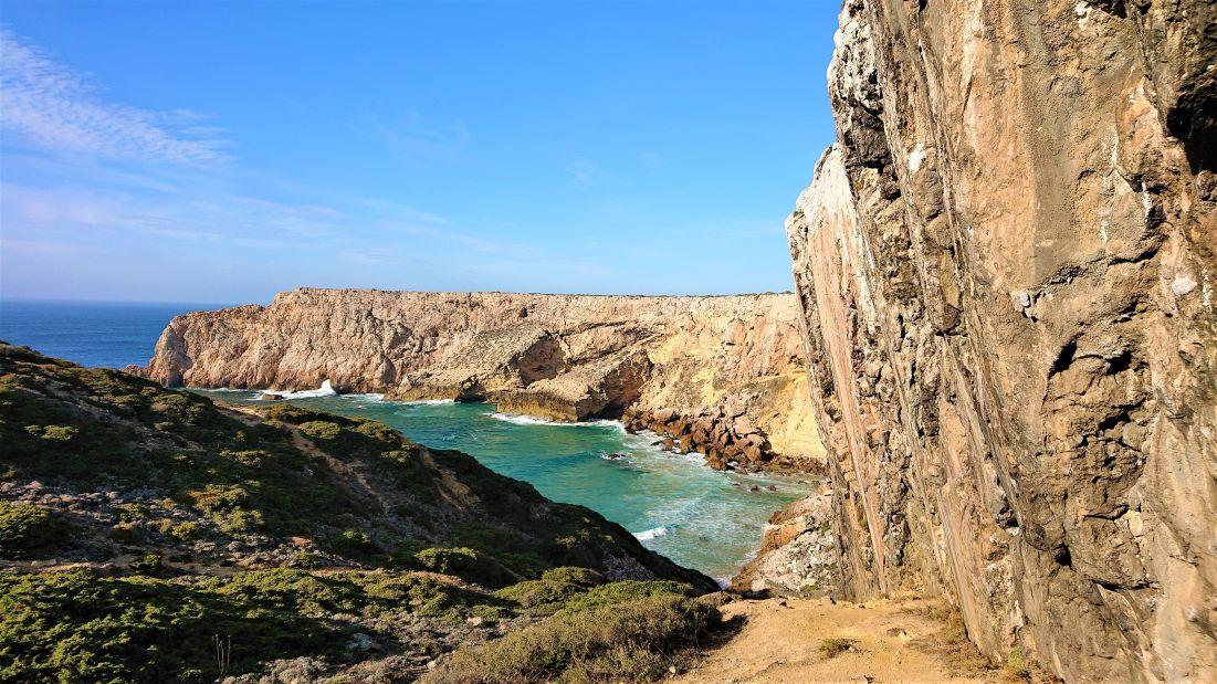 Klettern in Sagres