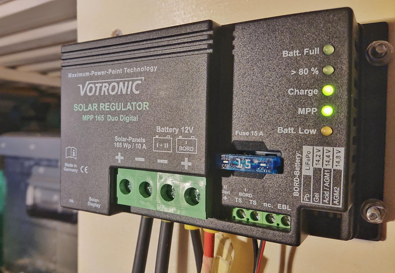 Votronic Solarregler