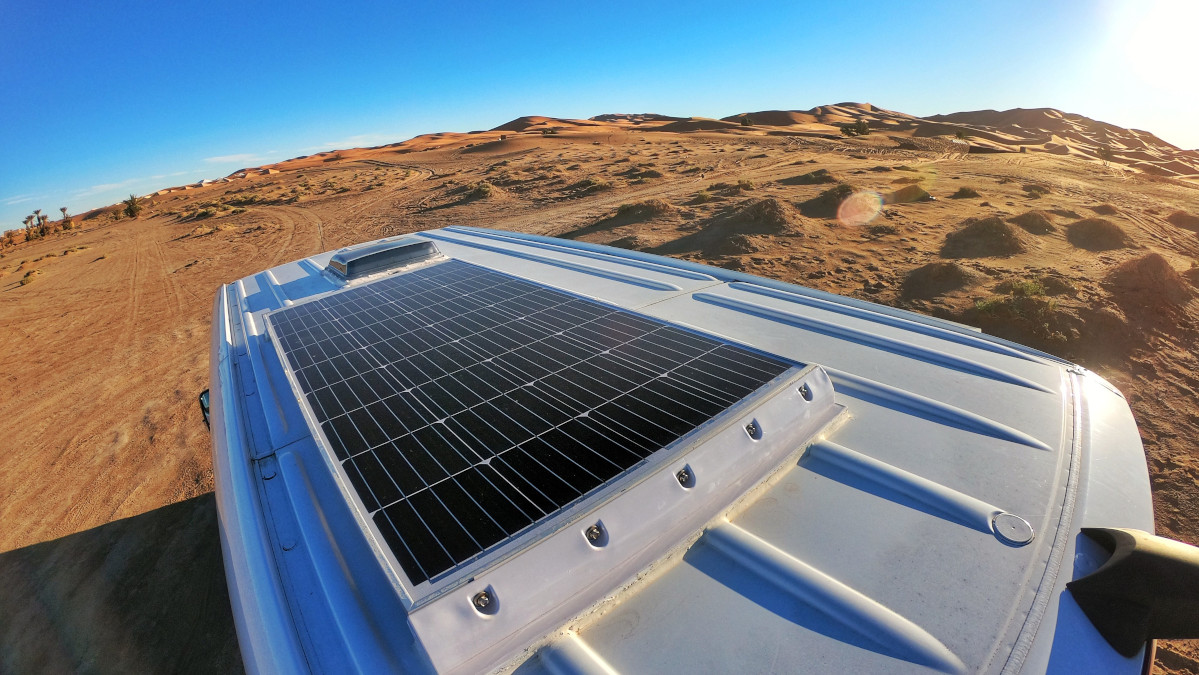 Vanlife Solaranlage
