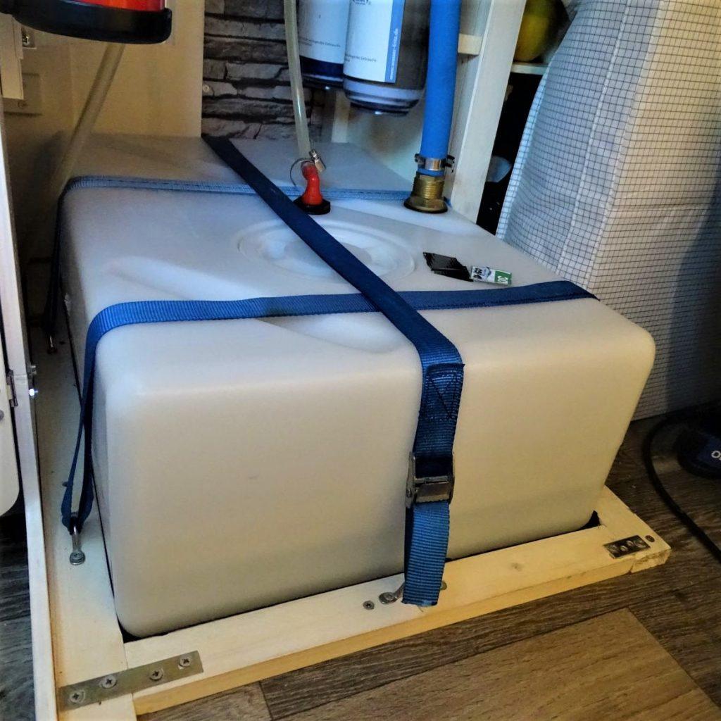 Wohnmobil Wassertank