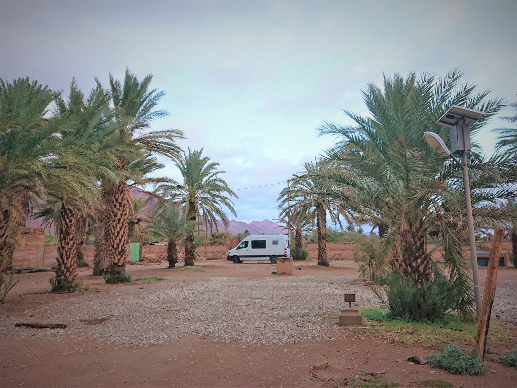 Campingplatz Marokko Icht