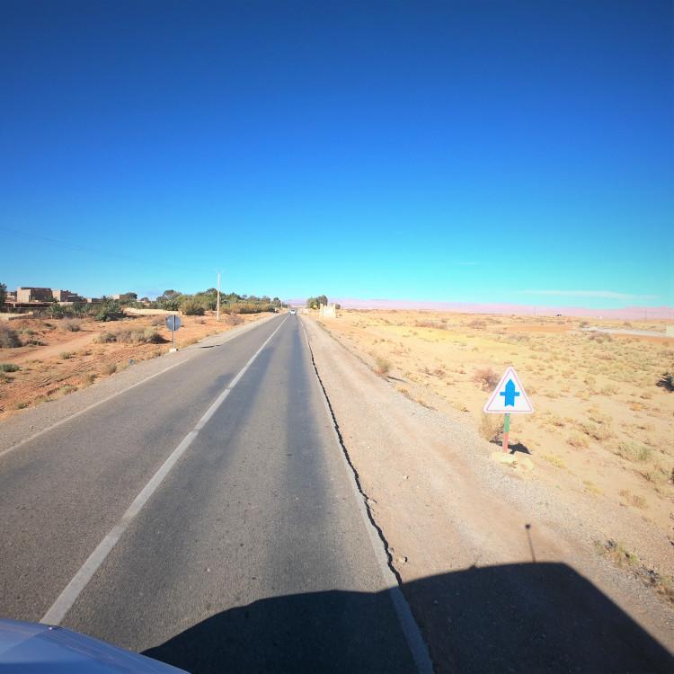 Straßen in Marokko