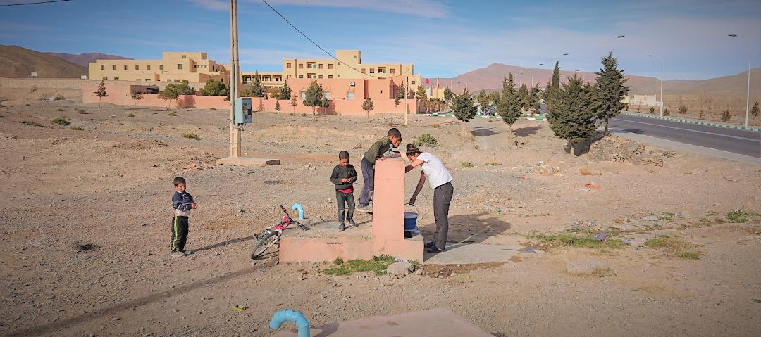 Wasser auffüllen Marokko
