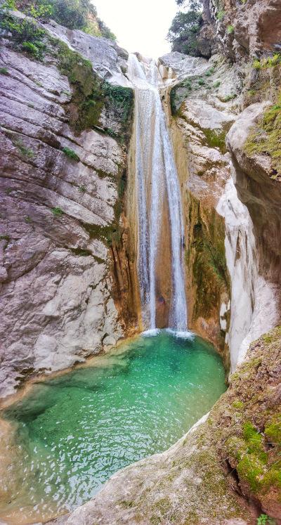 Nidri Wasserfall