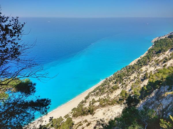 Lefkada - Egremni Beach und der Paradise View