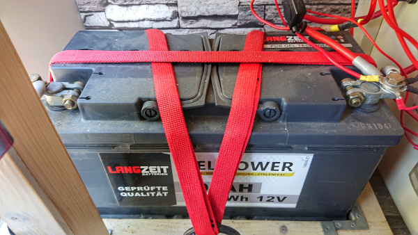 Aufbaubatterie Wohnmobil