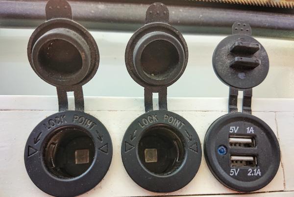 Steckdosen USB / 12 Volt
