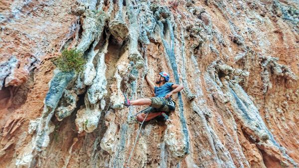 Leonidio Klettern