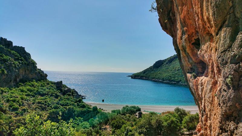 Klettern Kyparissi