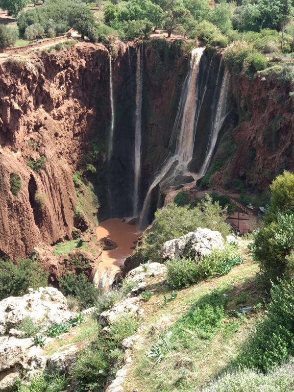 Marokko Wasserfall