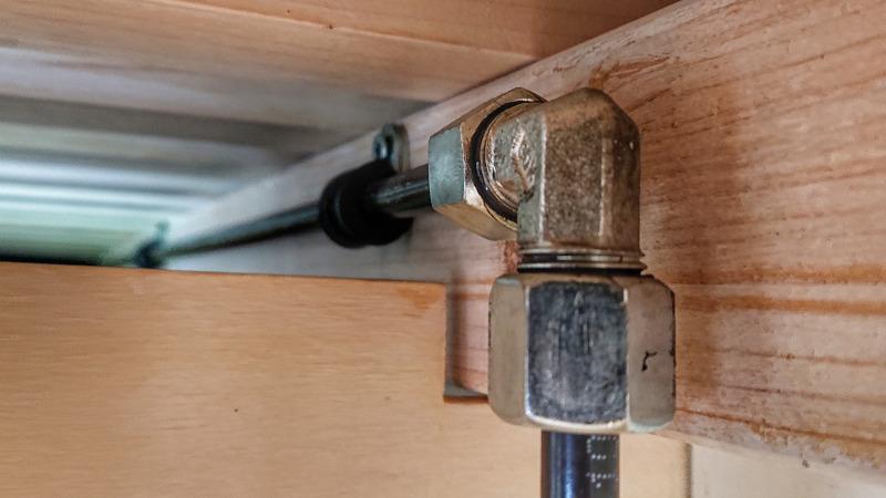 Gasprüfung Wohnmobil Gasleitung