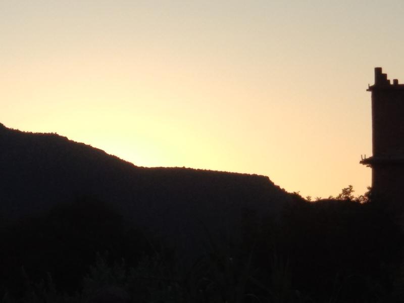 Sonne Marokko