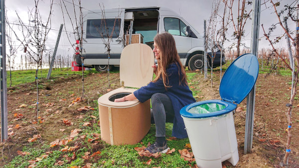 Wohnmobil Toilette