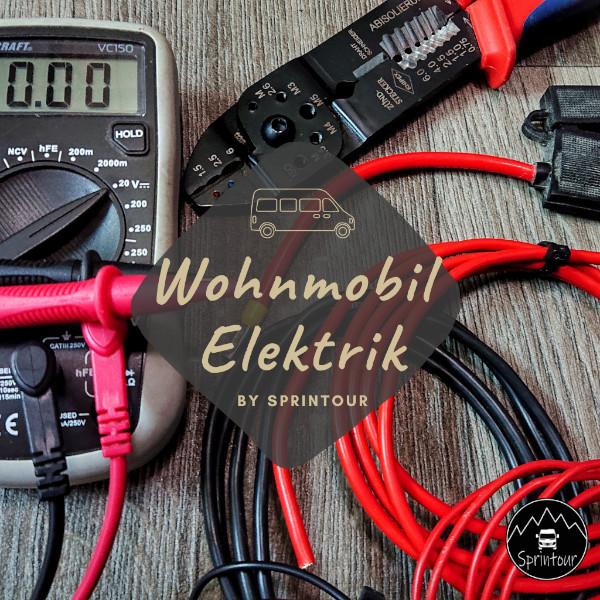Wohnmobil elektroinstallation
