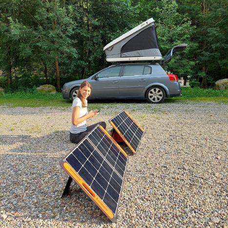 Solarpanele Powerstation