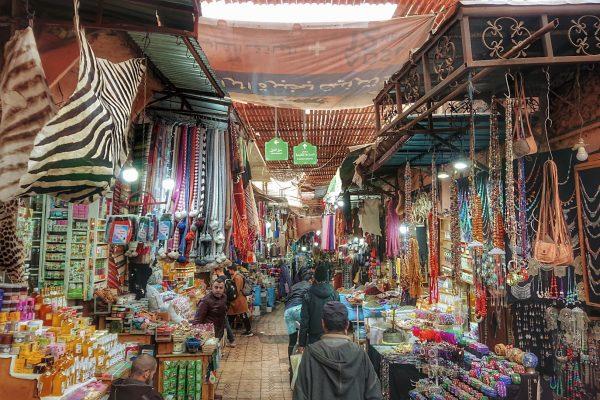 Markt-von-Marrakesch