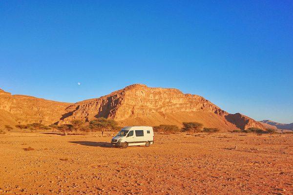 Steinwüste-Marokko